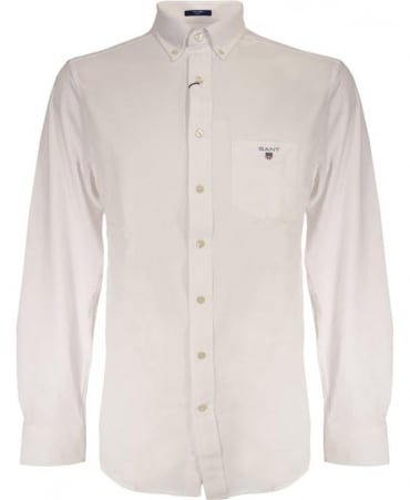 White Tech Prep 367052 Fitted Jersey Shirt