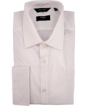 Paul Smith - London White The Byard PNXL-020N-M01STR Double Cuff Shirt