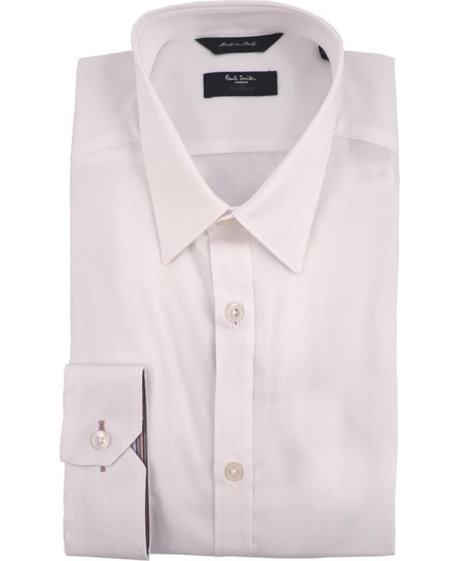 Paul Smith White The Byard PNXL-916-M01 Tailored Fit Shirt