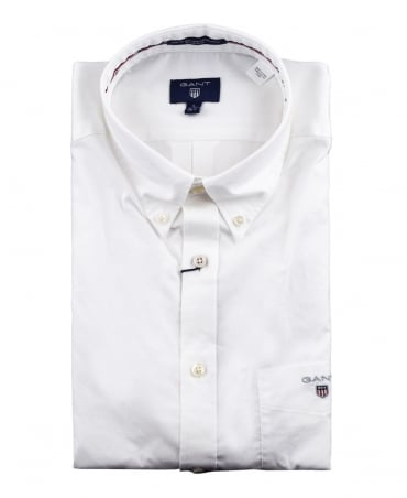Gant White 'The Plain Broadcloth' Shirt
