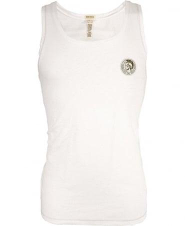 Diesel White UMTK-ZAC Underwear Vest