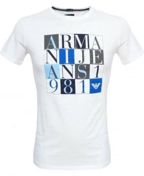 Armani White V6H22 T-Shirt