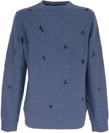 Hugo Boss 'Wilcott' Sweatshirt In Blue