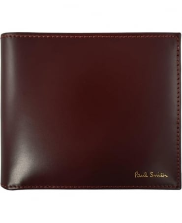 Paul Smith  Wine ASXC -4832-W761 Signature Stripe Interior Wallet