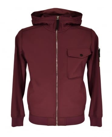 Stone Island Wine Soft Shell-R 06 Q0622 Jacket