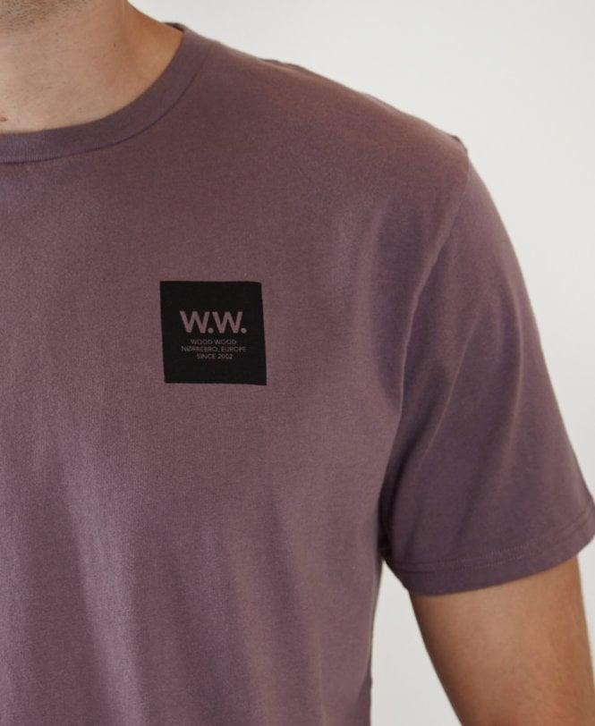 54e22da1901 Purple Box Crew Neck T-shirt