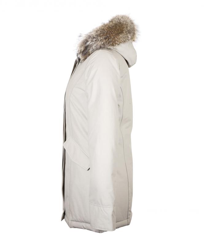 the latest 9a4e6 94d34 Beige Arctic Parka Coat