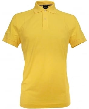 Hugo Boss Yellow Firenze Two Button Polo