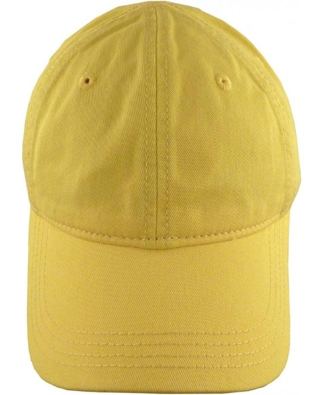 Lacoste Yellow RK9811 Adjustable Cotton Cap