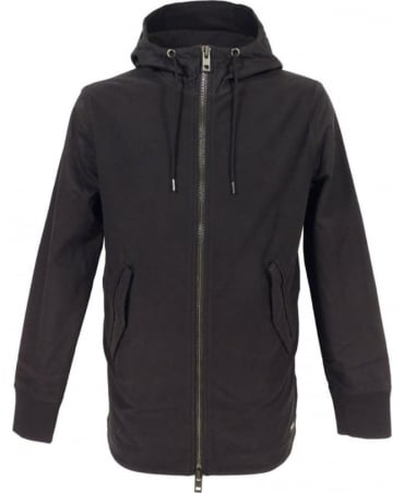 Hugo Boss 'Zoot' Hooded Sweatshirt In Black